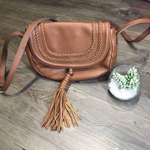 Vince Camuto Crossbody Bag / Summer Cognac